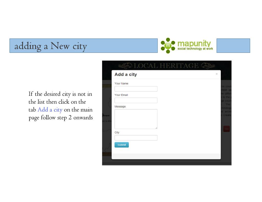 adding a New city adding a New city adding a Ne...