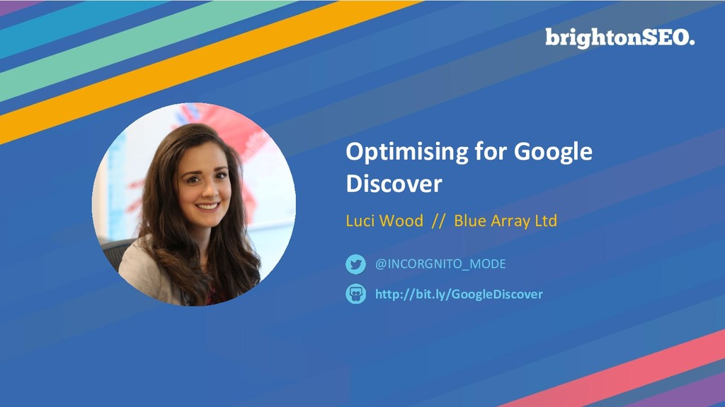 Optimising for Google Discover Luci Wood // Blu...