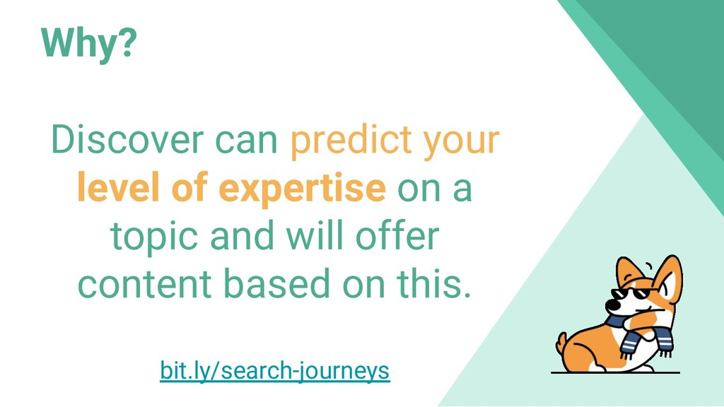 Why? Discover can predict your level of experti...