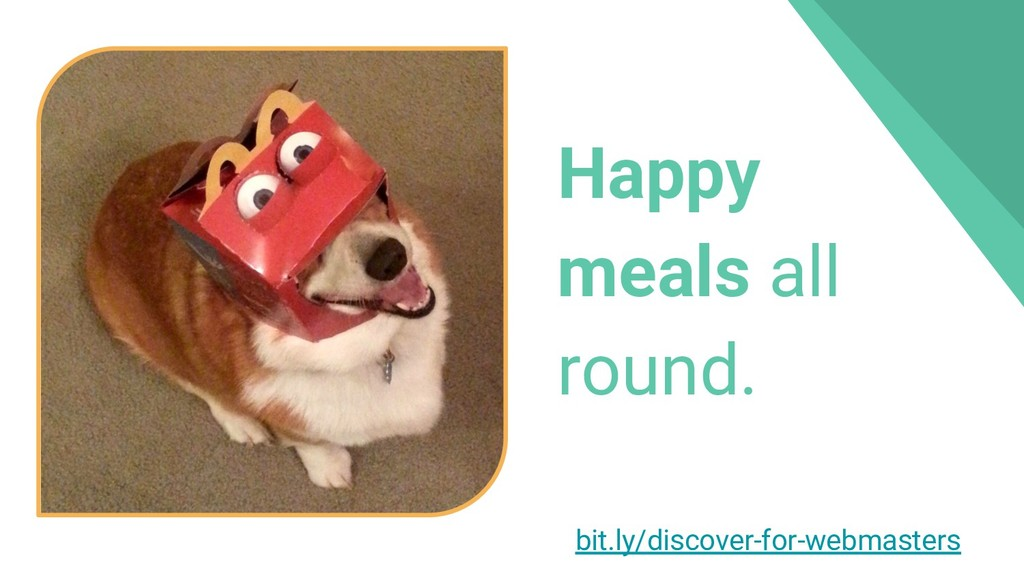 Happy meals all round. bit.ly/discover-for-webm...