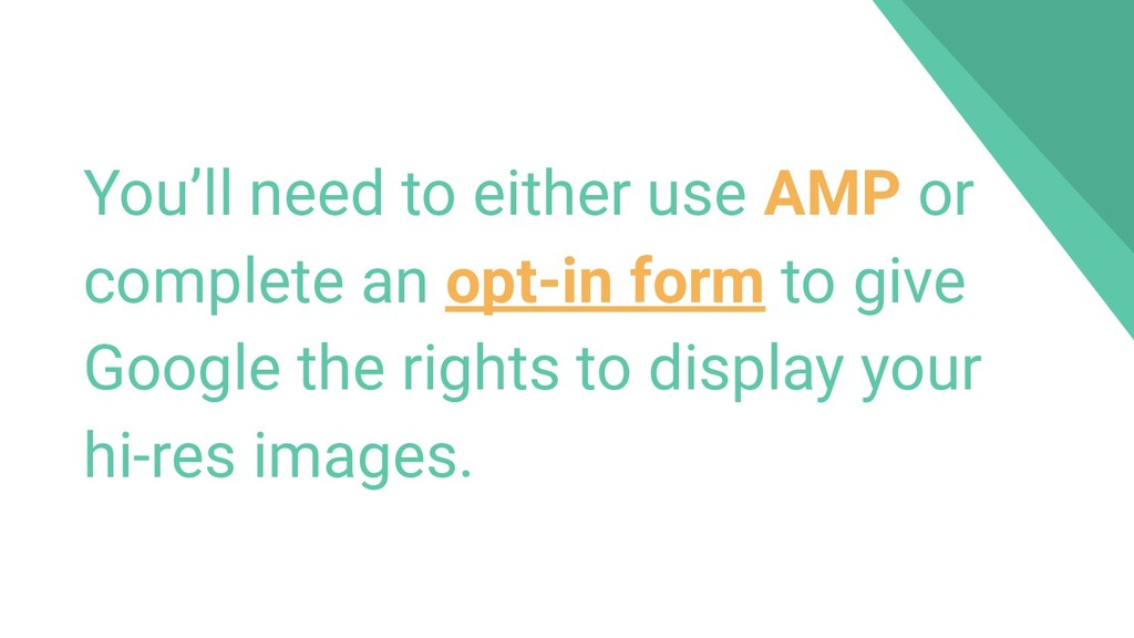 You'll need to either use AMP or complete an op...