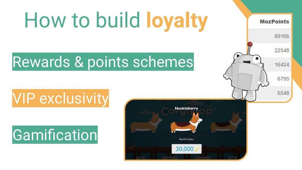 How to build loyalty Rewards & points schemes V...