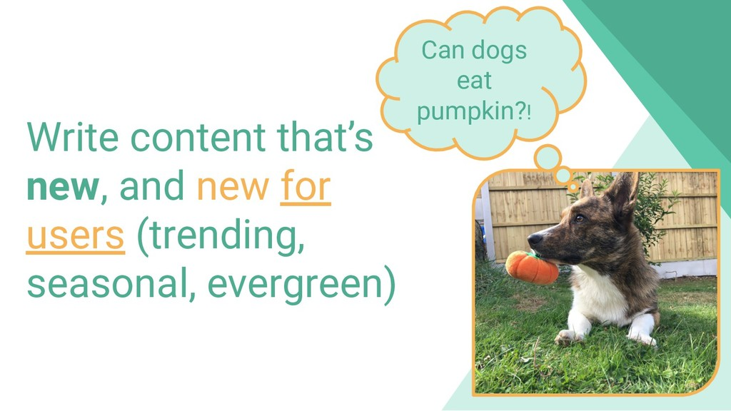 800 million Discover users Write content that's...