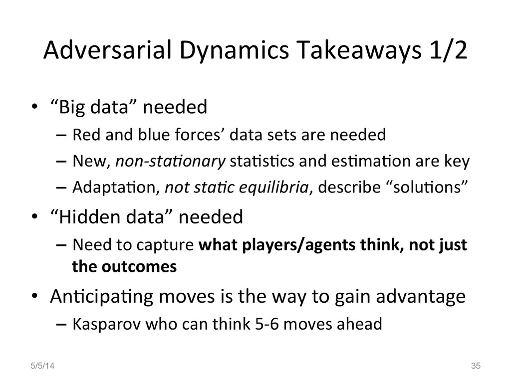Adversarial	