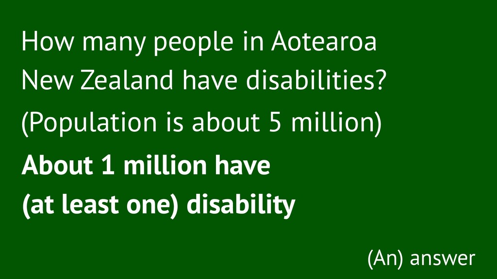 How many people in Aotearoa New Zealand have di...