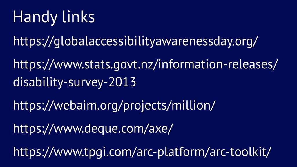 Handy links https://globalaccessibilityawarenes...