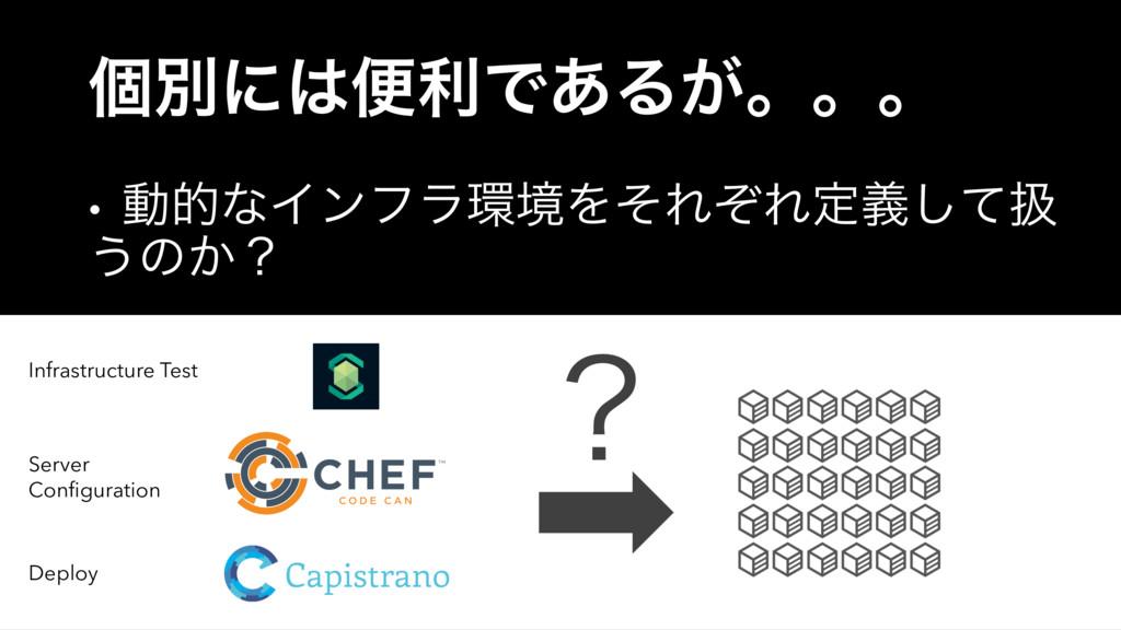 logo (2) ݸผʹศརͰ͋Δ͕ɻɻɻ • ಈతͳΠϯϑϥڥΛͦΕͧΕఆٛͯ͠ѻ ͏ͷ...