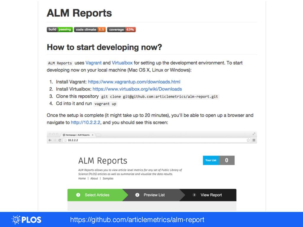 https://github.com/articlemetrics/alm-report