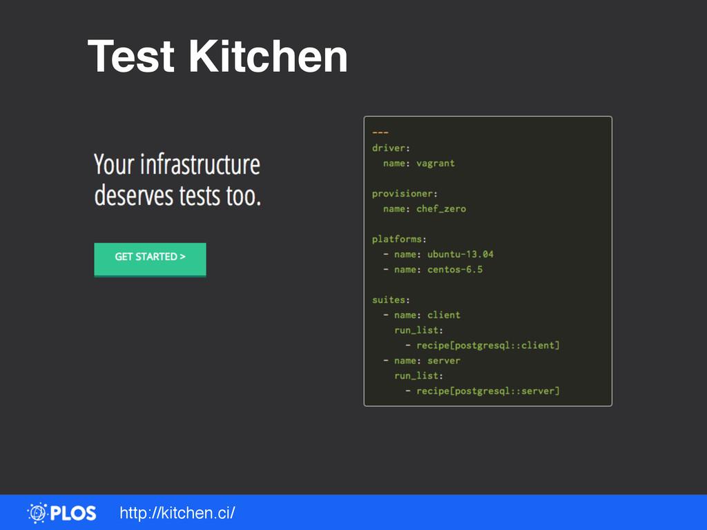 http://kitchen.ci/ Test Kitchen
