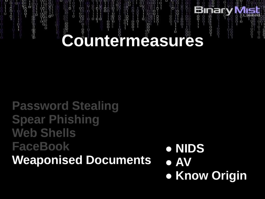 Countermeasures Password Stealing Spear Phishin...