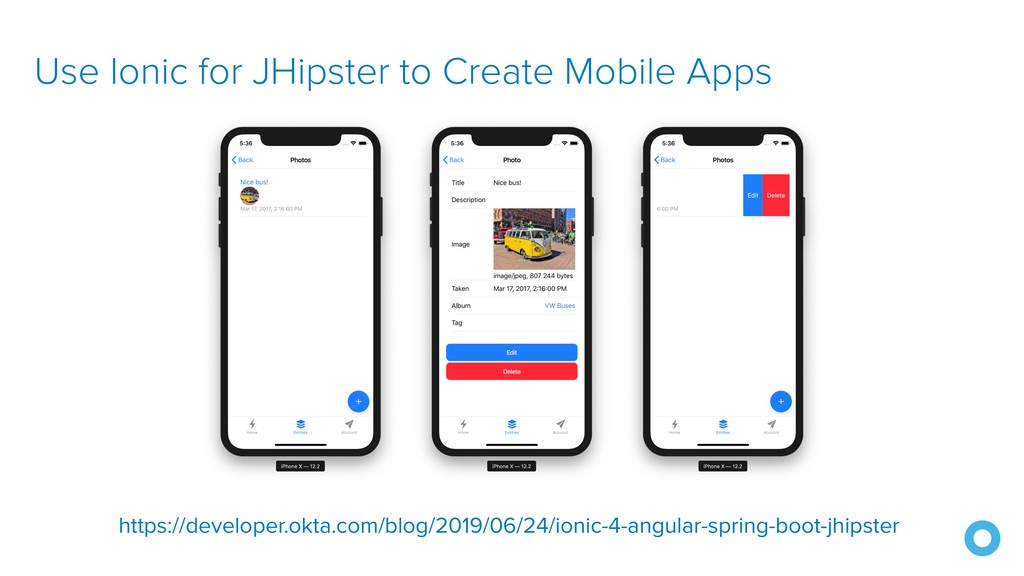 Use Ionic for JHipster to Create Mobile Apps ht...