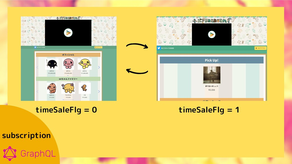 subscription timeSaleFlg = 0 timeSaleFlg = 1