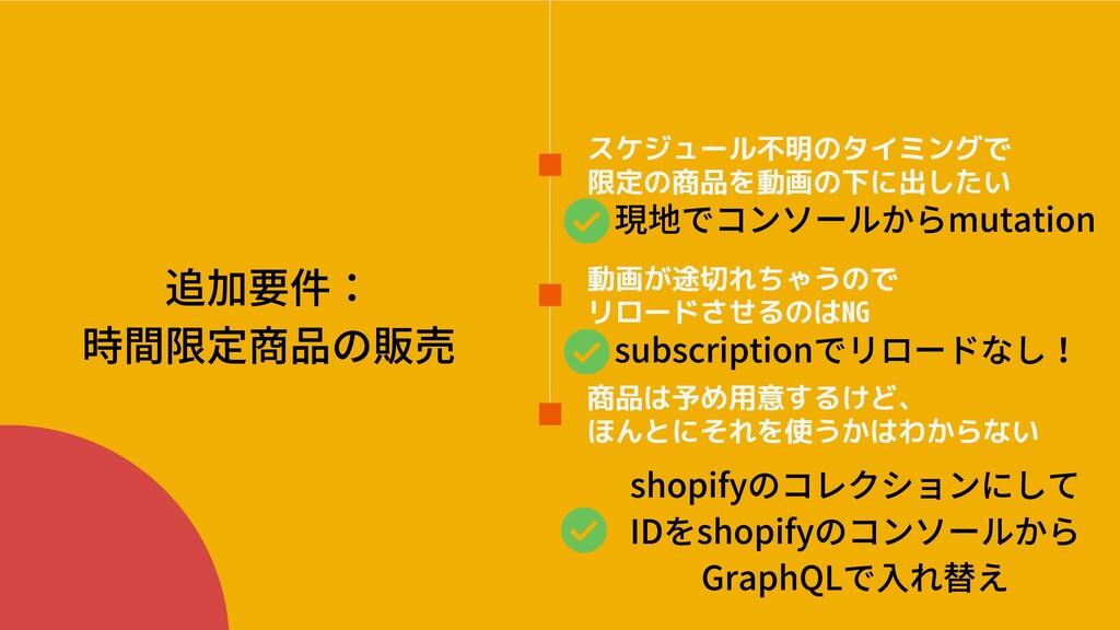 shopifyのコレクションにして IDをshopifyのコンソールから GraphQLで⼊れ...