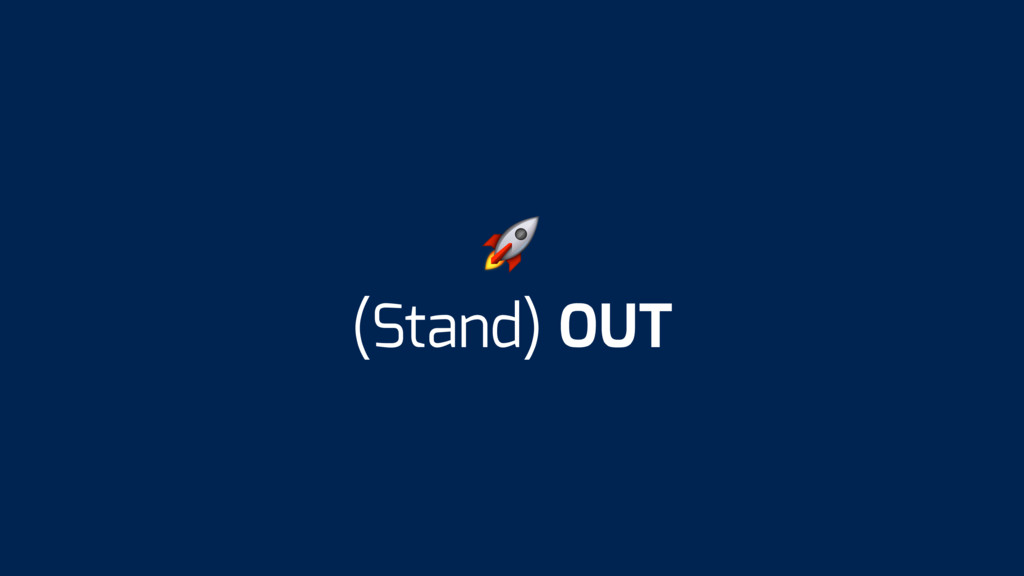 (Stand) OUT