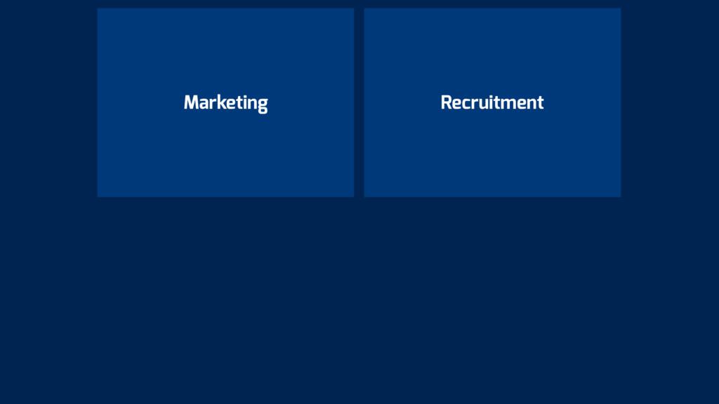 Marketing Recruitment