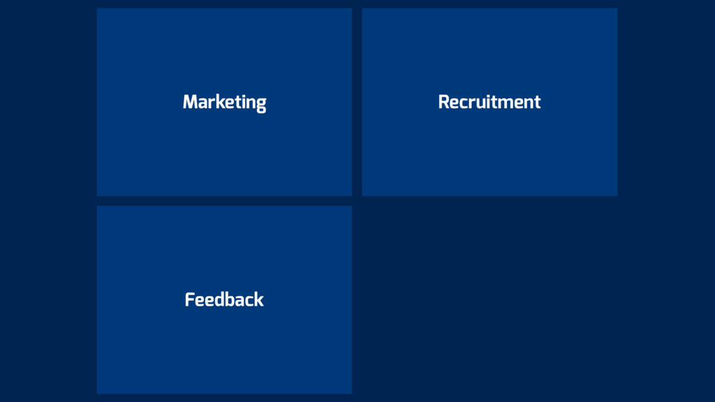 Marketing Recruitment Feedback