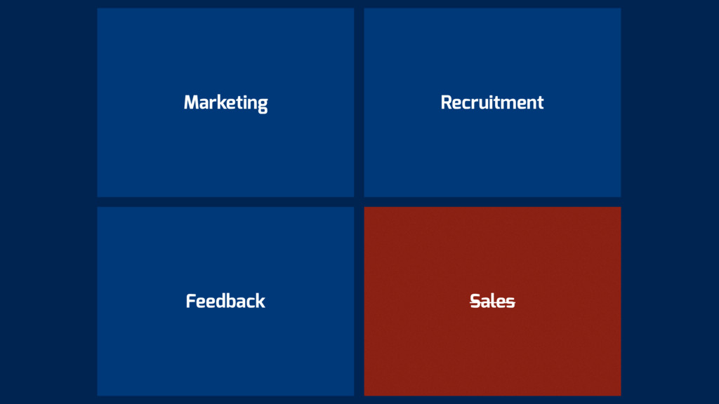 Feedback Marketing Sales Recruitment