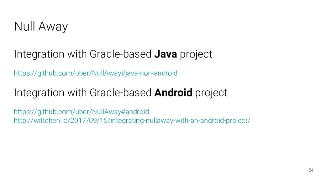 Null Away Integration with Gradle-based Java pr...