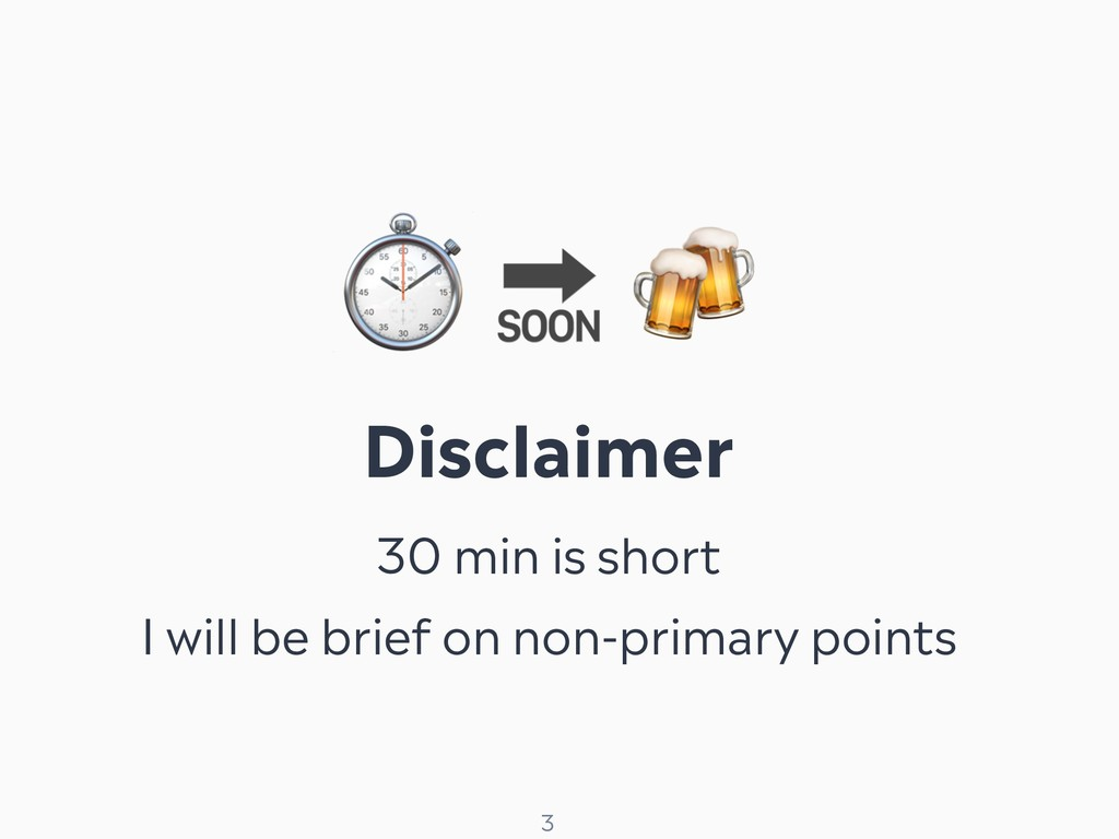 ! 3 ⏱   Disclaimer 30 min is short I will be br...