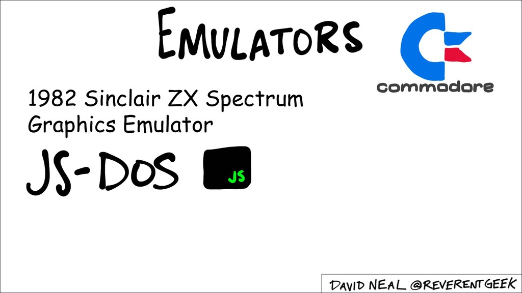 1982 Sinclair ZX Spectrum Graphics Emulator