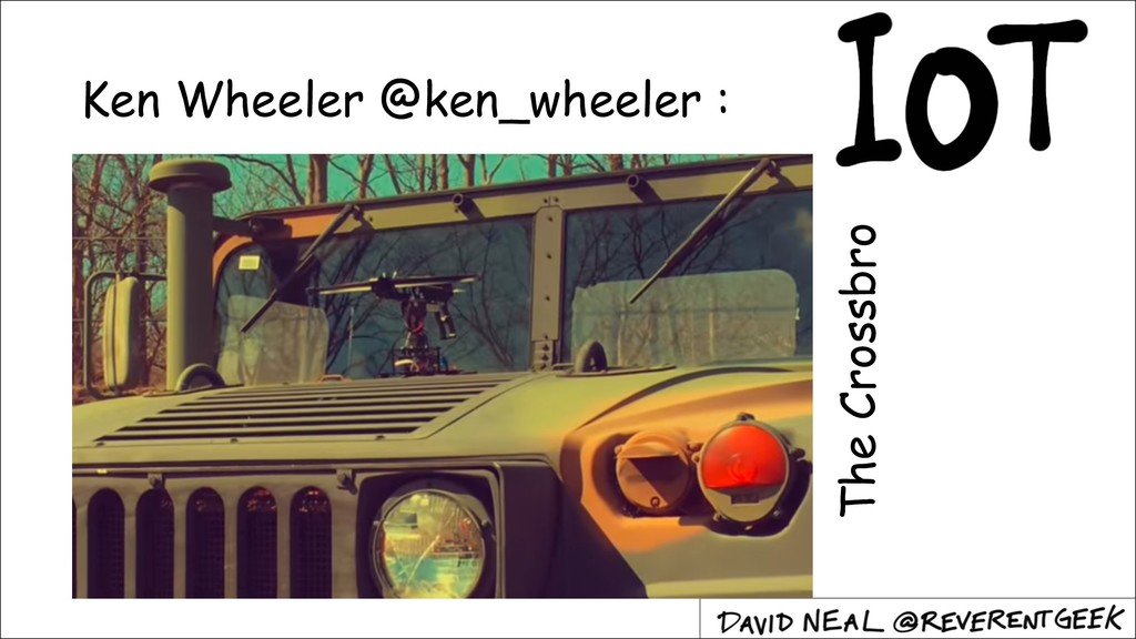 Ken Wheeler @ken_wheeler : The Crossbro