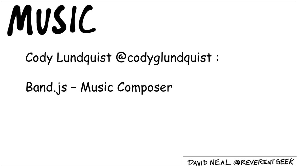 Cody Lundquist @codyglundquist : Band.js – Musi...