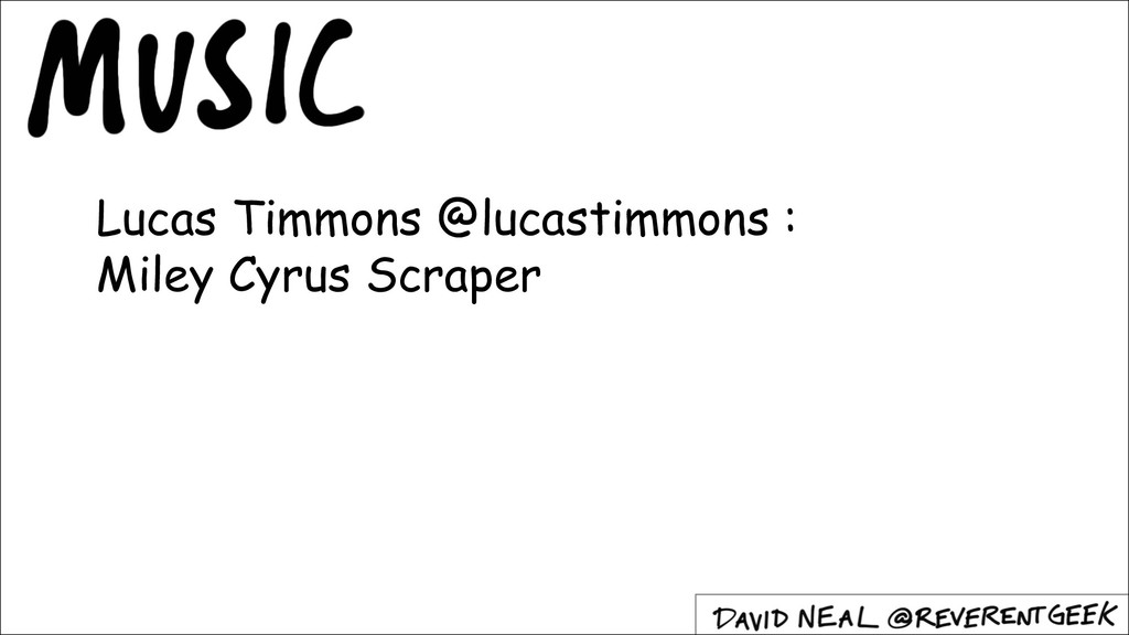 Lucas Timmons @lucastimmons : Miley Cyrus Scrap...