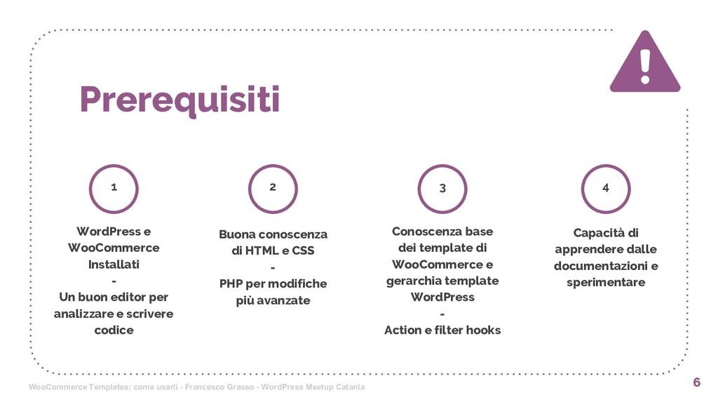 Prerequisiti 6 1 WordPress e WooCommerce Instal...