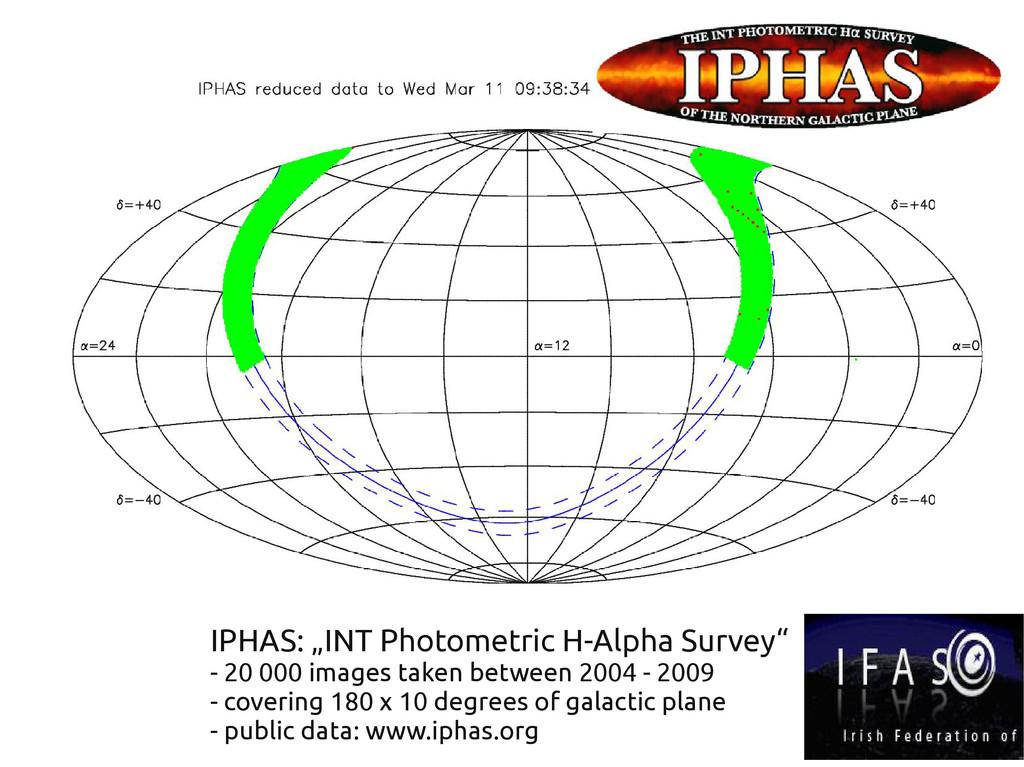 "IPHAS: ""INT Photometric H-Alpha Survey"" - 20 00..."
