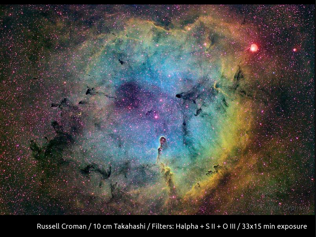 Russell Croman / 10 cm Takahashi / Filters: Hal...