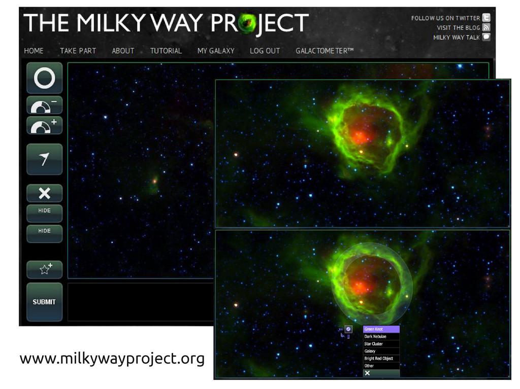 www.milkywayproject.org