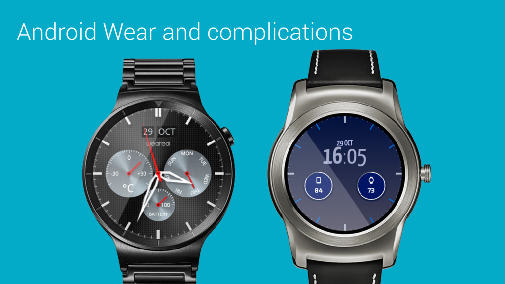 Android Wear and complications