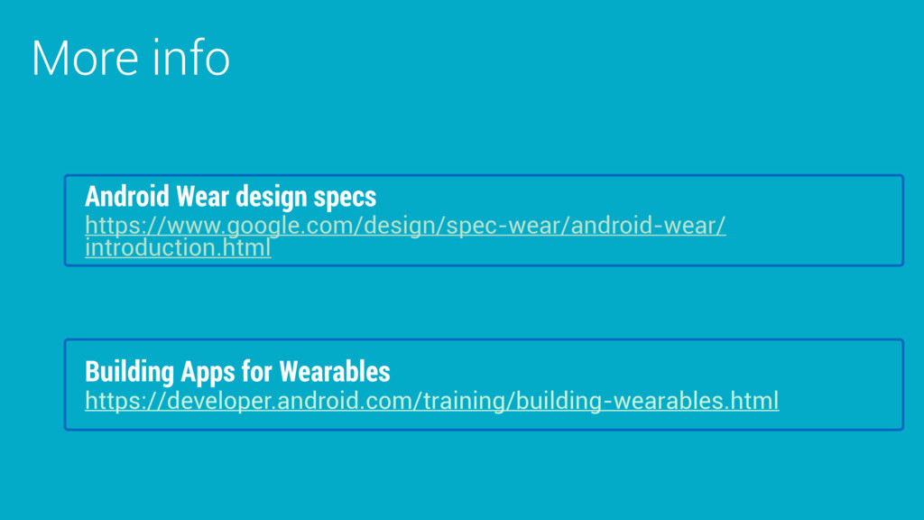More info Building Apps for Wearables https://d...