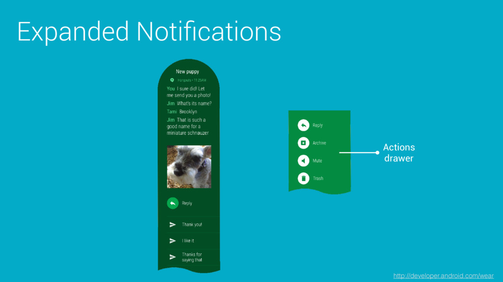 Expanded Notifications Actions drawer http://dev...