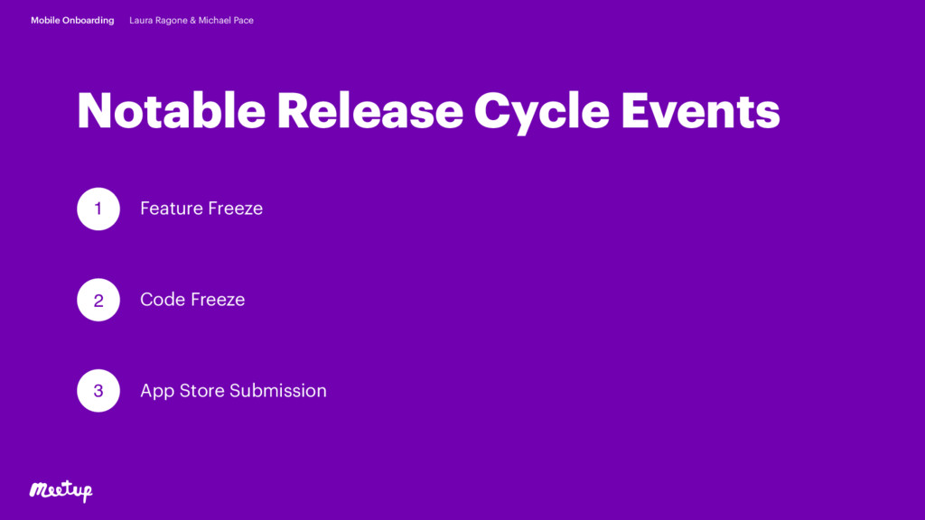 Notable Release Cycle Events Feature Freeze 1 2...