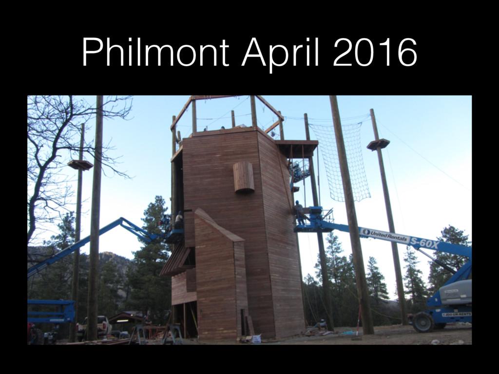 Philmont April 2016