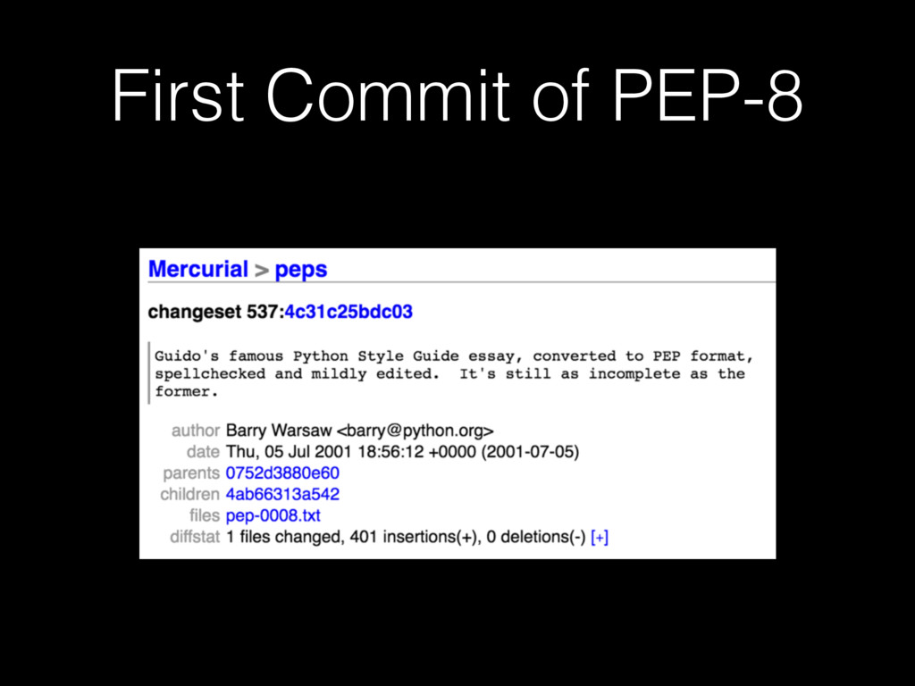 First Commit of PEP-8