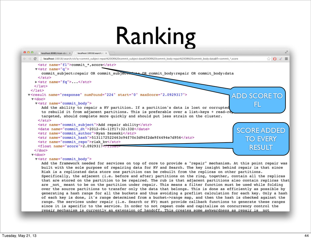 Ranking ADD SCORE TO FL SCORE ADDED TO EVERY RE...
