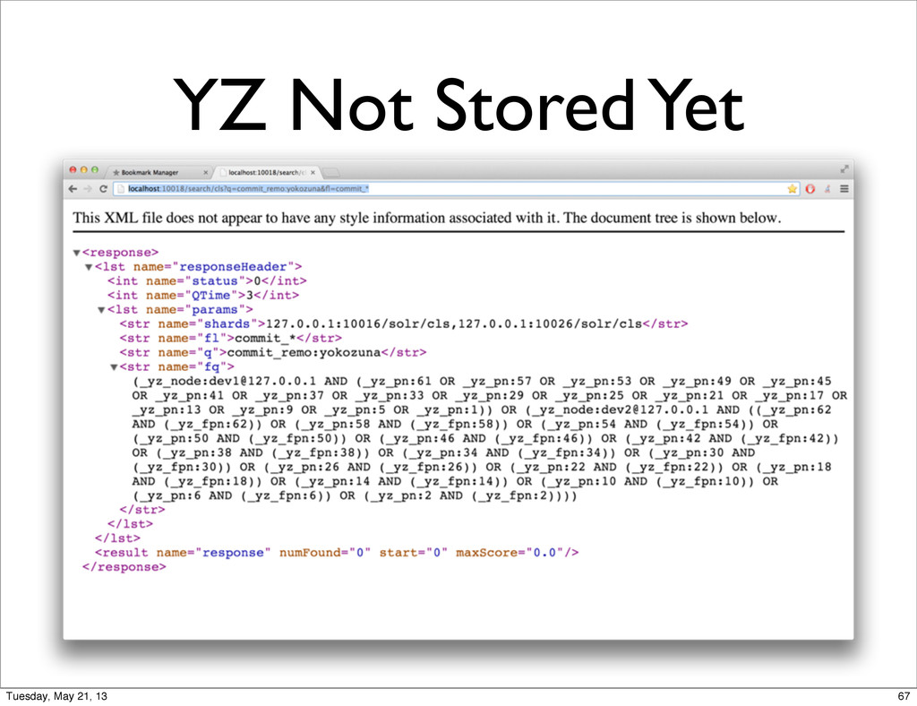 YZ Not Stored Yet 67 Tuesday, May 21, 13