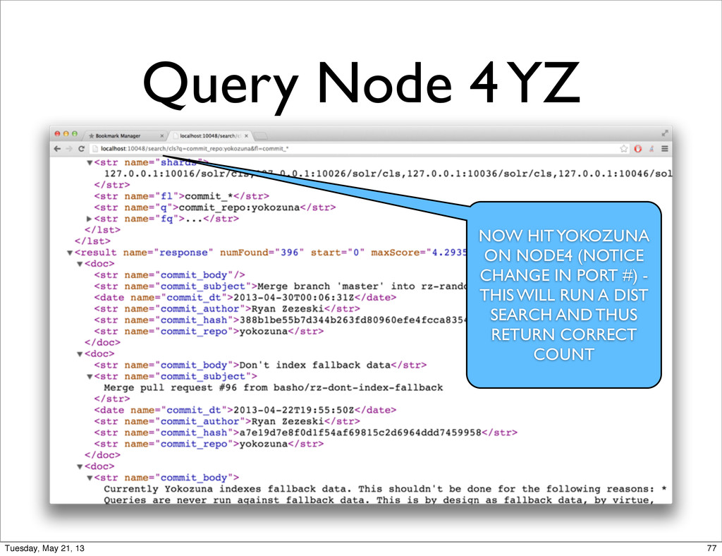 Query Node 4 YZ NOW HIT YOKOZUNA ON NODE4 (NOTI...
