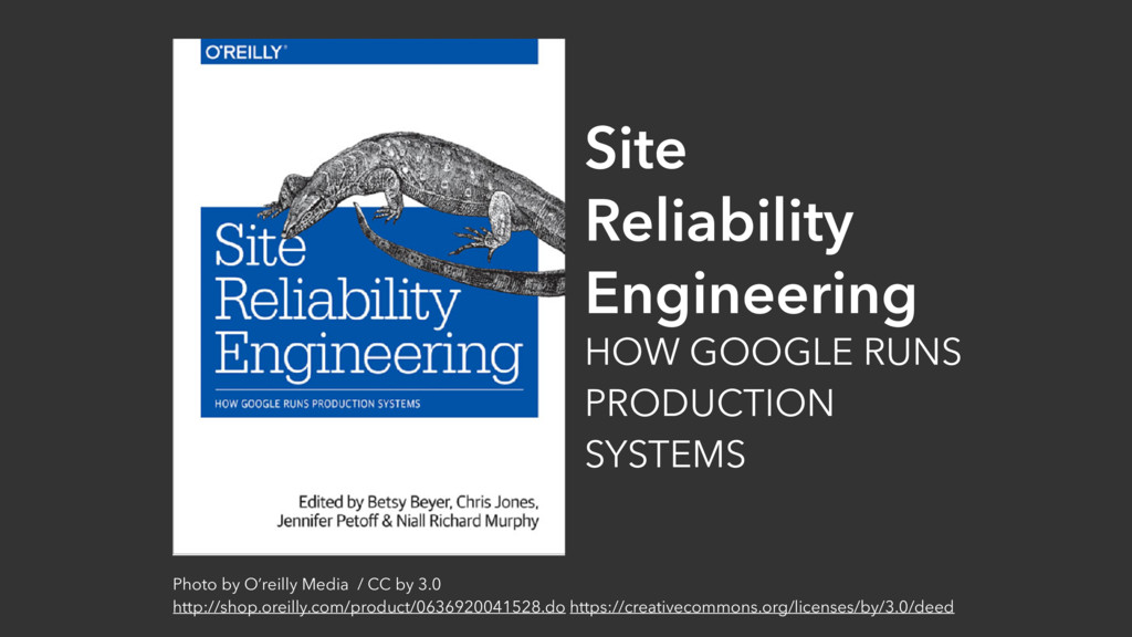 Site Reliability Engineering HOW GOOGLE RUNS PR...