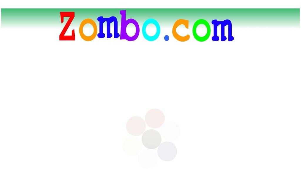 Source: zombo.com