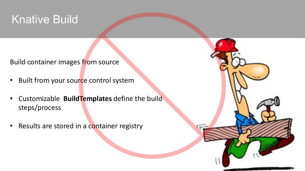 Knative Build Build container images from sourc...