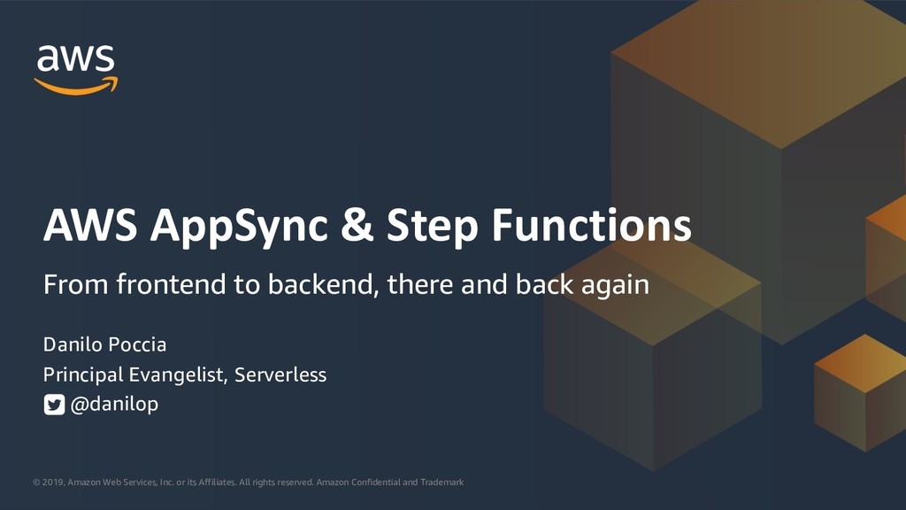 AWS AppSync & Step Functions