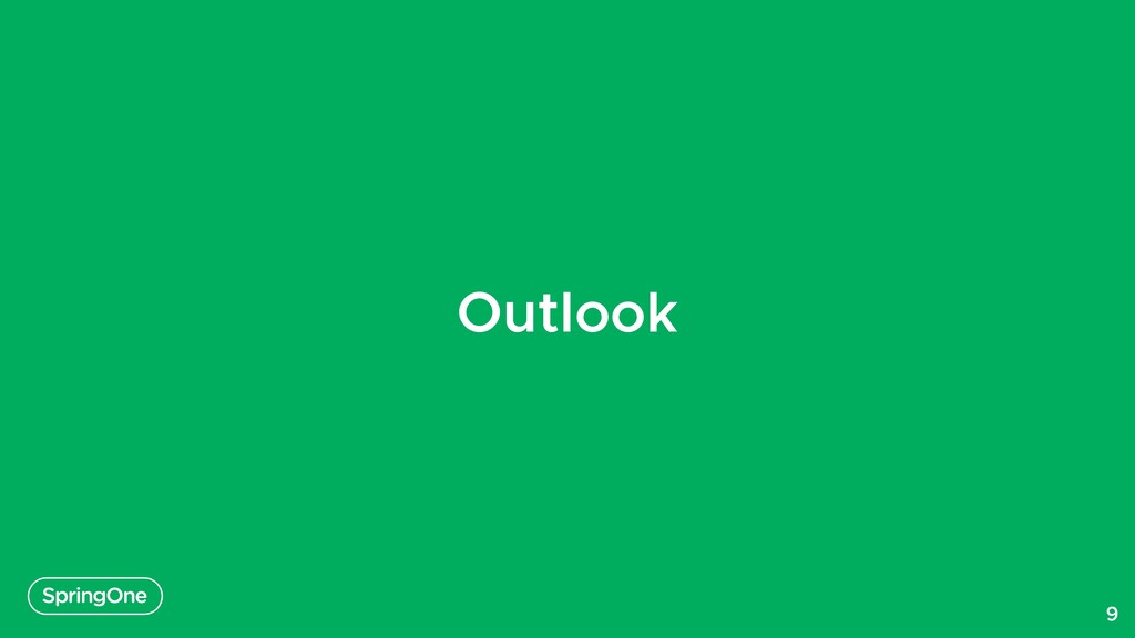 Outlook 9