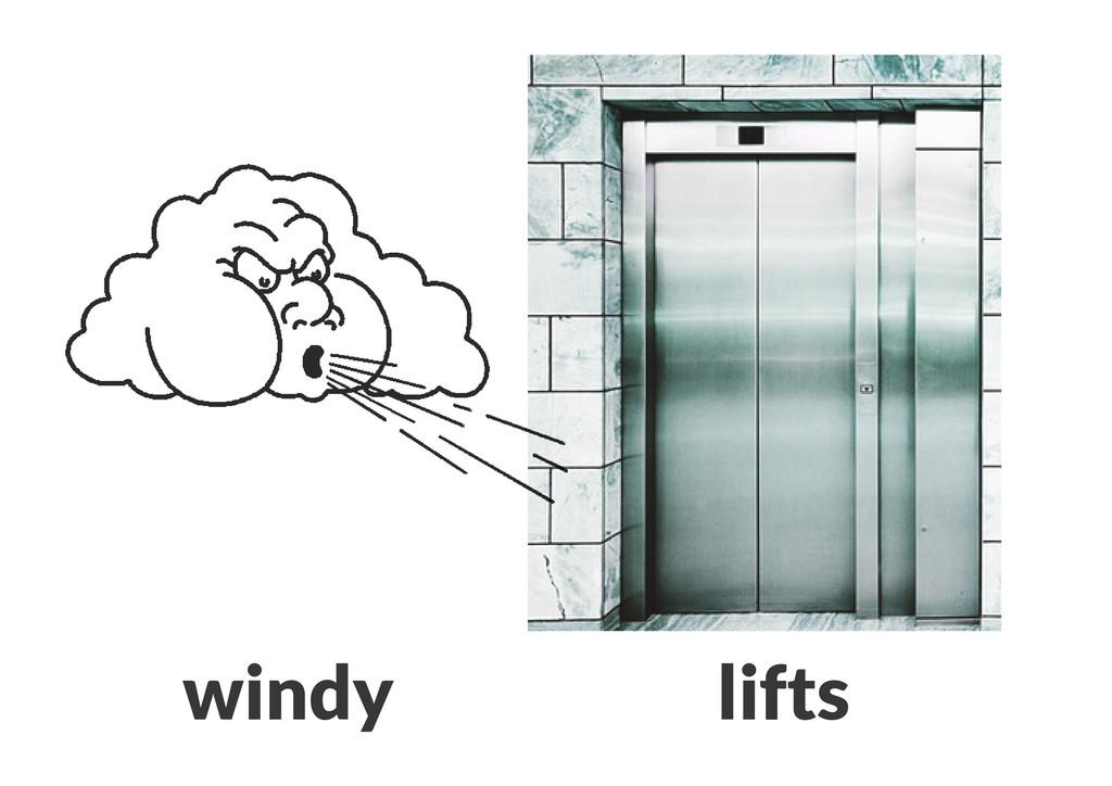 windy lifts