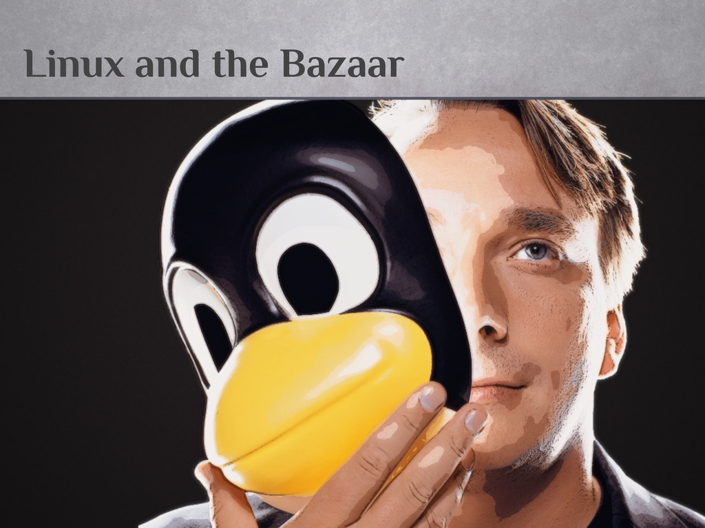 Linux and the Bazaar
