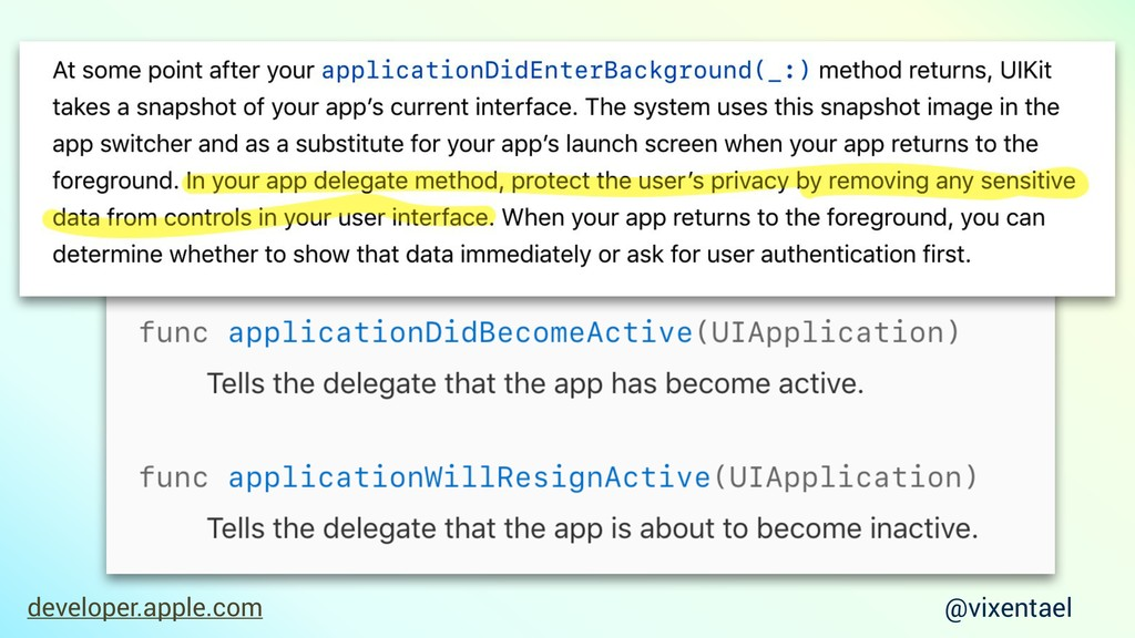 developer.apple.com @vixentael