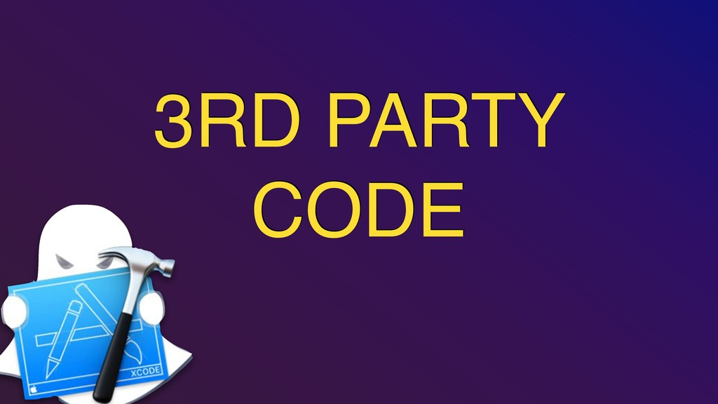 3RD PARTY CODE