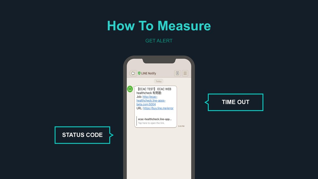 How To Measure GET ALERT STATUS CODE TIME OUT